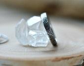 Floral silver ring, stacking ring, wedding band, silver band, silver thumb ring, sterling silver ring