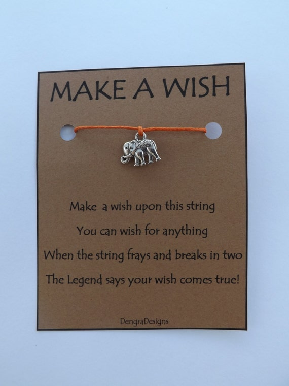 Elephant Wish String