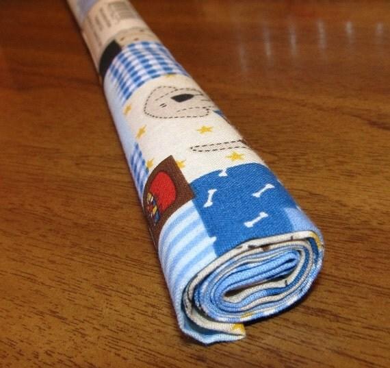 Fabric Palette Fat Quarter Roll Puppy Dog Print, 18