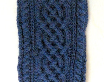 Celtic Knot Baby Cocoon with Matching Hat - Newborn to 3 Months
