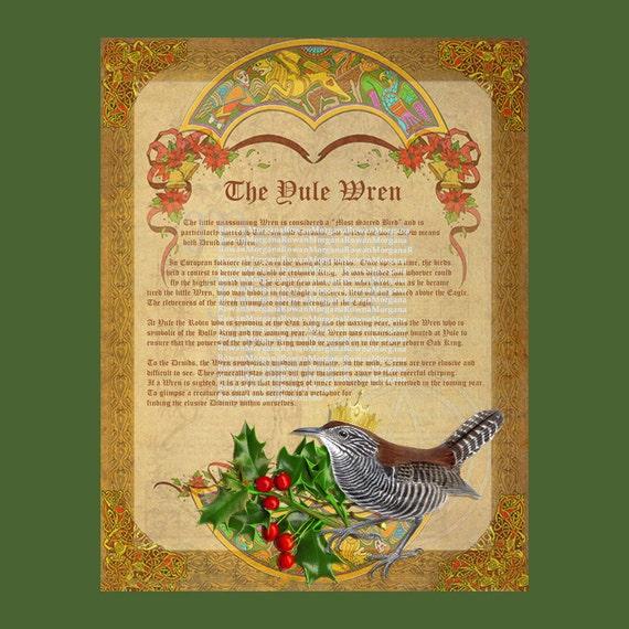 The Yule Wren Legend