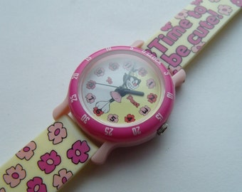 Girl Child Watch How To Read Child Size Pink