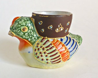 Satsuma Egg Cup Vintage Egg Cup Duck Egg Cup