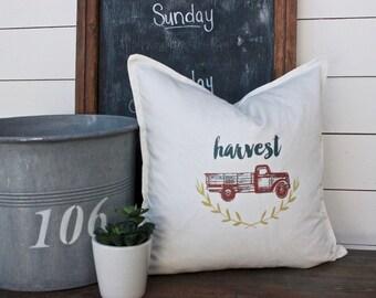 Fall Pillow, Holiday Pillows, Decorative Pillow Cover, Thanksgiving Pillow, Farmhose Pillow Style,Modern Vintage Market