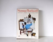 Large Norman Rockwell Hardcover Coffee Table Book First Edition