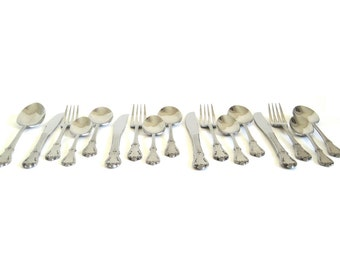 Stainless Flatware Set Northland Stainless Korea Evening Star 17-pc Service for 4