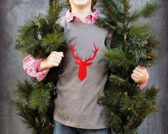 Deer Holiday T-shirt Sale Ready to Ship