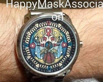 Zelda Majoras Mask Termina Clock Tower Clocktown Watch | Nintendo 64 N64 | Game Accurate Screen Functional Replica