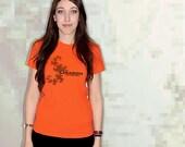 Dragon Fractal T-Shirt - Orange