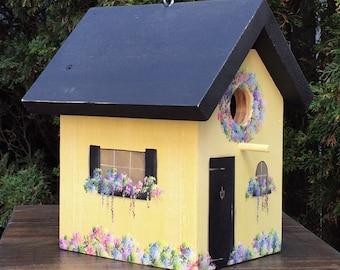Weathered Cottage Birdhouse