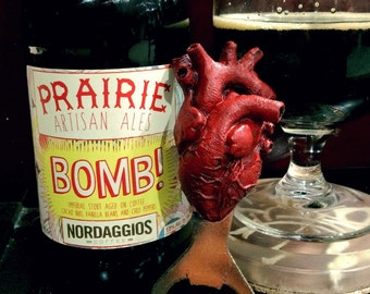 Anatomical Heart Bottle Opener
