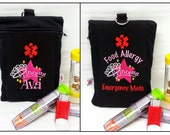 Oversized Custom Inhaler / Chamber / Epi-Pen Case with Personalized Interior