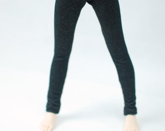 MNF Black Jeggings For MSD BJD
