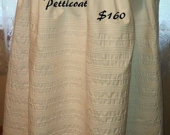 60 Row Corded Petticoat SHIPS IN 7 DAYS just needs your waist measurement