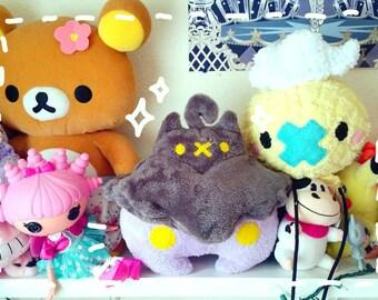 Shiny Pumpkaboo Pokemon Plushie - Halloween Ghost Pokemon Plush Toy
