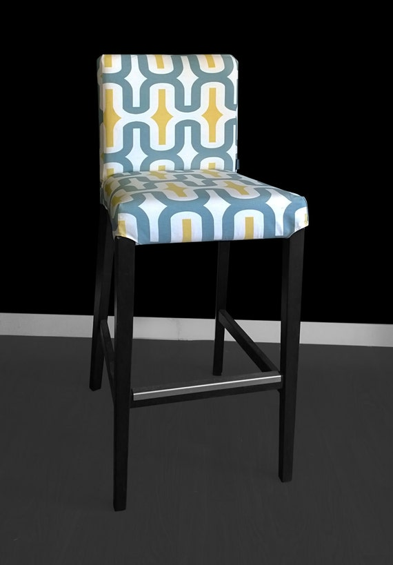 Ikea Henriksdal Bar Stool Chair Cover Embrace By
