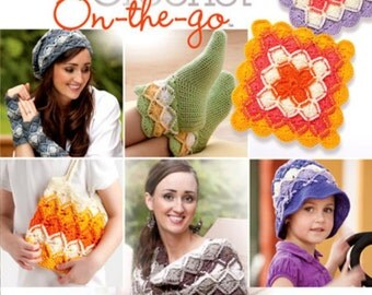 Bavarian Crochet On the Go Brand New Pattern Book from Annie's