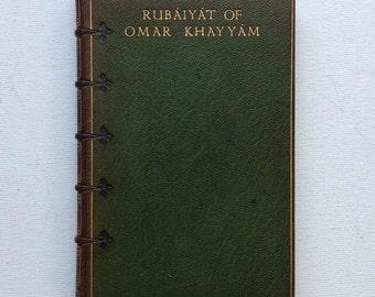 Rubaiyat of Omar Khayyam - Macmillan 1903 - beautiful leather by the famous early 1900s binders Sangorski & Sutcliffe