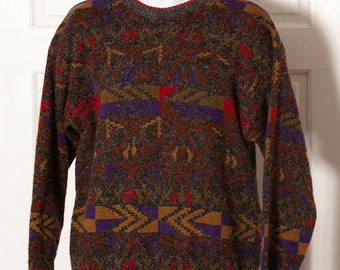 Awesome 80s Sweater - White Oak - Medium