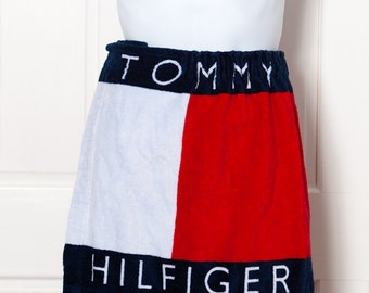 90s TOMMY HILFIGER Men's Shower Wrap Velcro