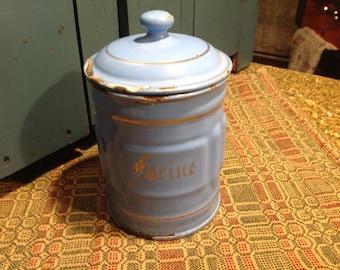 Vintage Farine Flour Tin