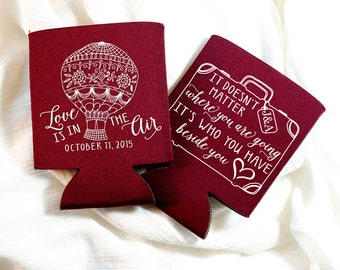 Destination Wedding Favors, Travel Wedding Gift, Love is in the Air Wedding Favor, It's Who You Have Beside You, Destination Wedding, 1180