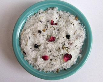 Madagascar Dead Sea Bath Salts, Bath Salts, Essential Oils, Vanilla