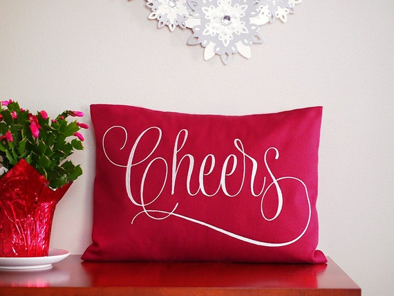 New Years Cheers Toast Wine Lover Wine Decor Home Decor Red