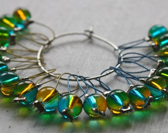 20 Knitting stitch markers Spring day