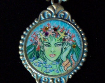 Mermaid Queen Necklace
