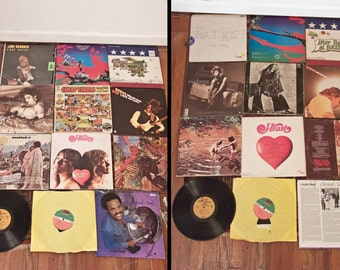 12 ALBUMS Lot Heart Big Brother Santana Airplane Tull Zeppelin Audio Records