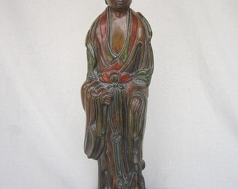 James Mont Style Asian Lamp, Figural