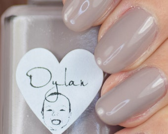 Dylan Taupe Nail Polish 15ml (.5oz)