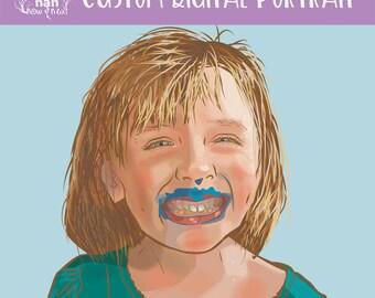 Custom Portrait Digital Art