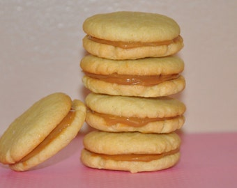Alfajores Cookies Sandwich Dulce de Leche Coconut  Edible Holiday  Gift 9