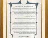 Oath of Maimonides, Physi...