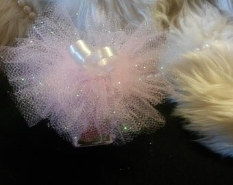 10 for 12.50 & FREE shipping/ Hand Sanitizer Tutu /COLOR of your choice /Engagement/Gender reavealing party favors/Baby shower/Weddings