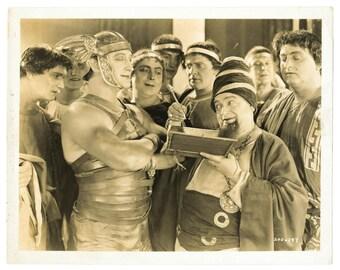 Original 1925 Vintage BEN HUR Movie Still Photograph Francis X. Bushman 8x10 MGM Ramon Novarro Film Photo