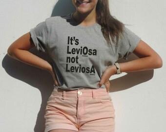 It's Leviosa not Leviosa Harry potter shirt Leviosa tee Magic Levitation Hermione Granger to Ron Weasley Magic Spell Gryffindor