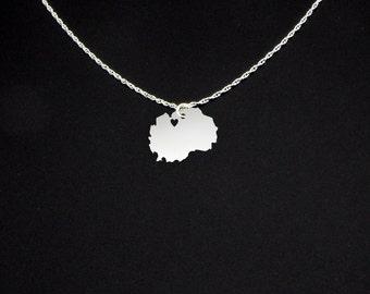 Macedonia Necklace - Macedonia Jewelry - Macedonia Gift