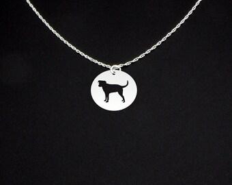 Danish Swedish Farmdog Necklace - Sterling Silver