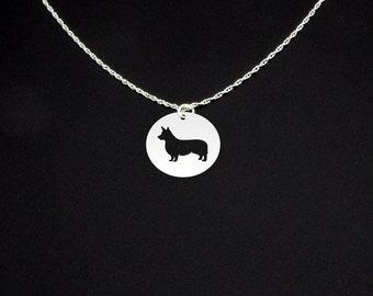 Pembroke Welsh Corgi Necklace - Corgi Gift - Corgi Jewelry