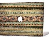 TRIBAL WOOD MacBook Decal Macbook Stickers Macbook Skin Macbook Case Macbook Pro Cover Laptop Stickers Laptop Skin Laptop Decal Case