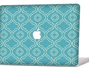 BLUE VINTAGE MacBook Decal Macbook Stickers Macbook Skin Macbook Pro Cover Laptop Stickers Laptop Skin Laptop Decal Case