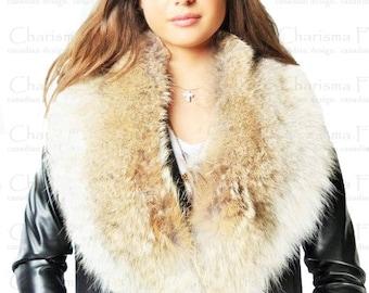 Canadian Coyote Fur Collar