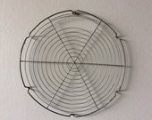 Vintage French wire Cake cooling rack or tray