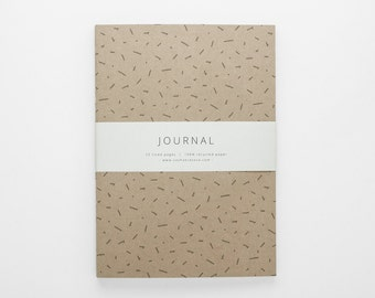 TERRAIN I geometric journal A5 with lined pages