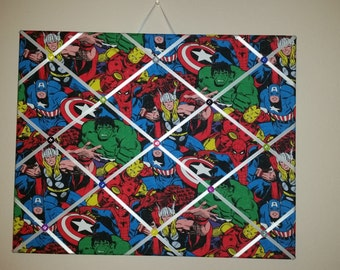 Marvel Comics photo memo board
