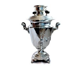 OOAK Antique Vintage Plated tea-urn period tea urn circa 1870 high quality, WorldWide Express Shipping, Vintage Kitchen Decor