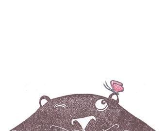card spring, bear